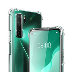 Ultra-thin Transparent TPU Soft Case T03 for Huawei P40 Lite 5G Clear