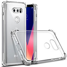 Ultra-thin Transparent TPU Soft Case T03 for LG V30 Clear