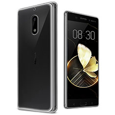 Ultra-thin Transparent TPU Soft Case T03 for Nokia 6 Clear