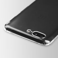 Ultra-thin Transparent TPU Soft Case T03 for OnePlus 5 Clear