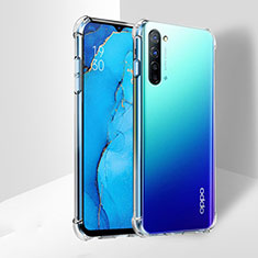 Ultra-thin Transparent TPU Soft Case T03 for Oppo K7 5G Clear