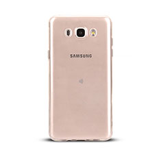 Ultra-thin Transparent TPU Soft Case T03 for Samsung Galaxy J5 Duos (2016) Clear