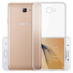 Ultra-thin Transparent TPU Soft Case T03 for Samsung Galaxy J5 Prime G570F Clear