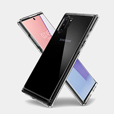 Ultra-thin Transparent TPU Soft Case T03 for Samsung Galaxy Note 10 Plus 5G Clear