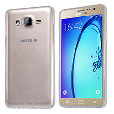 Ultra-thin Transparent TPU Soft Case T03 for Samsung Galaxy On5 Pro Clear