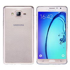 Ultra-thin Transparent TPU Soft Case T03 for Samsung Galaxy On7 Pro Clear