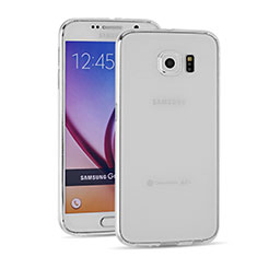 Ultra-thin Transparent TPU Soft Case T03 for Samsung Galaxy S6 SM-G920 Clear