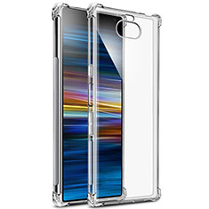 Ultra-thin Transparent TPU Soft Case T03 for Sony Xperia 10 Plus Clear