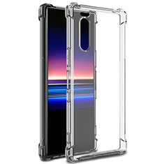 Ultra-thin Transparent TPU Soft Case T03 for Sony Xperia 5 Clear