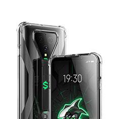 Ultra-thin Transparent TPU Soft Case T03 for Xiaomi Black Shark 3 Pro Clear