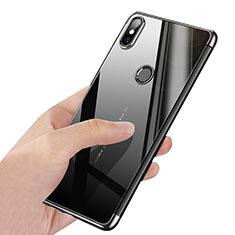 Ultra-thin Transparent TPU Soft Case T03 for Xiaomi Mi Mix 2S Silver