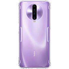 Ultra-thin Transparent TPU Soft Case T03 for Xiaomi Redmi K30 5G Clear