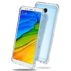 Ultra-thin Transparent TPU Soft Case T03 for Xiaomi Redmi Note 5 Indian Version Clear