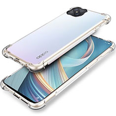 Ultra-thin Transparent TPU Soft Case T04 for Oppo Reno4 Z 5G Clear