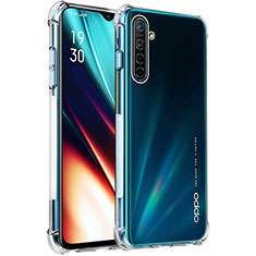 Ultra-thin Transparent TPU Soft Case T04 for Realme X2 Clear