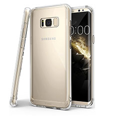 Ultra-thin Transparent TPU Soft Case T04 for Samsung Galaxy S8 Plus Clear