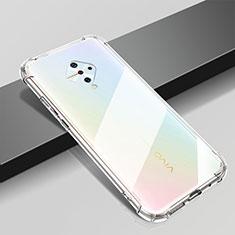 Ultra-thin Transparent TPU Soft Case T04 for Vivo X50 Lite Clear