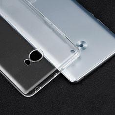 Ultra-thin Transparent TPU Soft Case T04 for Xiaomi Mi Note 2 Clear