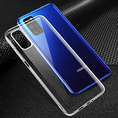 Ultra-thin Transparent TPU Soft Case T05 for Huawei Honor View 30 5G Clear