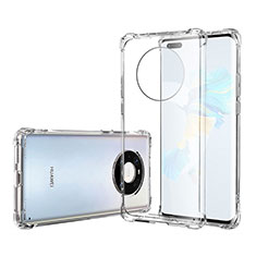 Ultra-thin Transparent TPU Soft Case T05 for Huawei Mate 40 Pro Clear