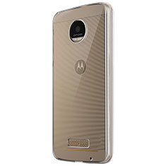 Ultra-thin Transparent TPU Soft Case T05 for Motorola Moto Z Play Clear