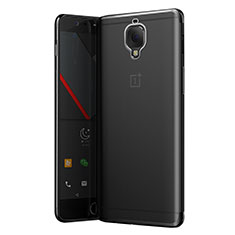 Ultra-thin Transparent TPU Soft Case T05 for OnePlus 3T Gray