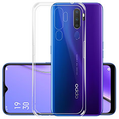 Ultra-thin Transparent TPU Soft Case T05 for Oppo A5 (2020) Clear
