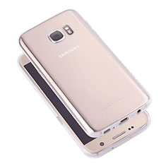 Ultra-thin Transparent TPU Soft Case T05 for Samsung Galaxy S7 G930F G930FD Clear