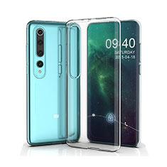 Ultra-thin Transparent TPU Soft Case T05 for Xiaomi Mi 10 Clear