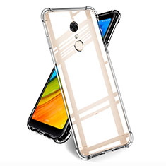 Ultra-thin Transparent TPU Soft Case T05 for Xiaomi Redmi Note 5 Indian Version Clear