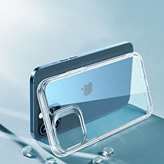 Ultra-thin Transparent TPU Soft Case T06 for Apple iPhone 12 Pro Max Clear