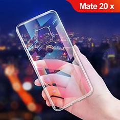 Ultra-thin Transparent TPU Soft Case T06 for Huawei Mate 20 X Clear