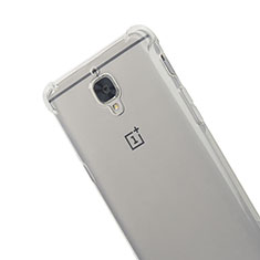 Ultra-thin Transparent TPU Soft Case T06 for OnePlus 3 Gray