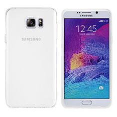 Ultra-thin Transparent TPU Soft Case T06 for Samsung Galaxy Note 5 N9200 N920 N920F White
