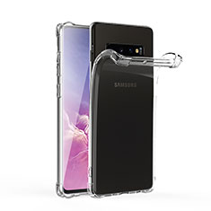Ultra-thin Transparent TPU Soft Case T06 for Samsung Galaxy S10 Clear