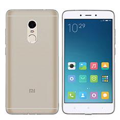 Ultra-thin Transparent TPU Soft Case T06 for Xiaomi Redmi Note 4 Gray