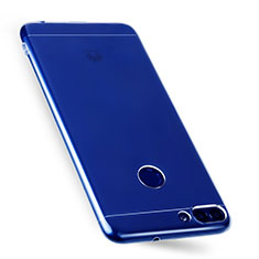 Ultra-thin Transparent TPU Soft Case T07 for Huawei Enjoy 7S Clear