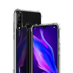 Ultra-thin Transparent TPU Soft Case T07 for Huawei P30 Lite XL Clear