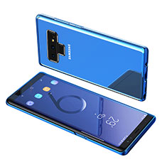 Ultra-thin Transparent TPU Soft Case T07 for Samsung Galaxy Note 9 Blue