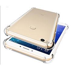Ultra-thin Transparent TPU Soft Case T07 for Xiaomi Mi Max 2 Clear