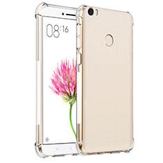 Ultra-thin Transparent TPU Soft Case T07 for Xiaomi Mi Max Clear