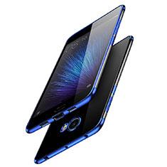 Ultra-thin Transparent TPU Soft Case T08 for Xiaomi Mi Note 2 Blue