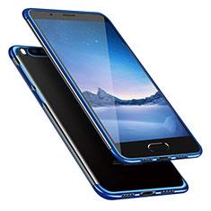 Ultra-thin Transparent TPU Soft Case T08 for Xiaomi Mi Note 3 Blue