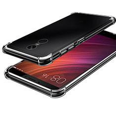 Ultra-thin Transparent TPU Soft Case T08 for Xiaomi Redmi Note 4 Clear