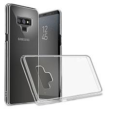 Ultra-thin Transparent TPU Soft Case T09 for Samsung Galaxy Note 9 Black