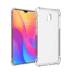 Ultra-thin Transparent TPU Soft Case T09 for Xiaomi Redmi 8A Clear