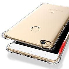 Ultra-thin Transparent TPU Soft Case T10 for Xiaomi Mi Max 2 Clear