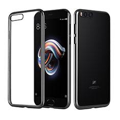 Ultra-thin Transparent TPU Soft Case T10 for Xiaomi Mi Note 3 Black