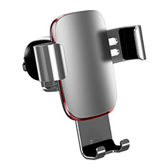 Universal Car Air Vent Mount Cell Phone Holder Stand A04 for Alcatel 3L Silver