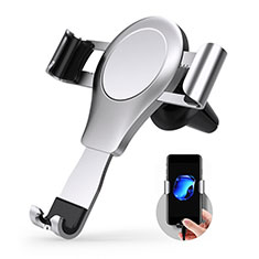 Universal Car Air Vent Mount Cell Phone Holder Stand R01 for Alcatel 3L Silver